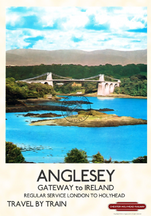 Anglesey, Menai Bridge